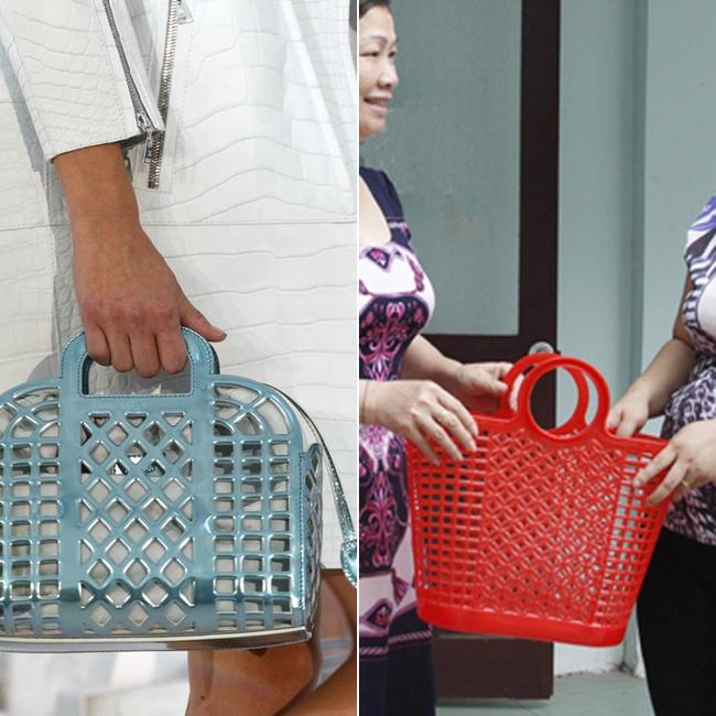 Thời nay, cái làn đi chợ & túi đựng chăn của các mẹ cũng thành hàng hiệu bán vài trăm triệu được - Ảnh 10.