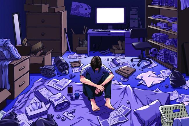 """""""Hikikomori"""" hành vi tự cô lập bản thân tại Nhật Bản"""