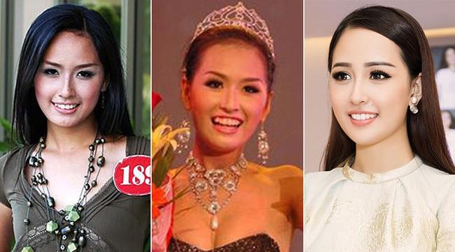 Khác biệt lớn giữa style make up ngoài đời với trên sân khấu đăng quang của các Hoa Hậu Việt Nam - Ảnh 4.