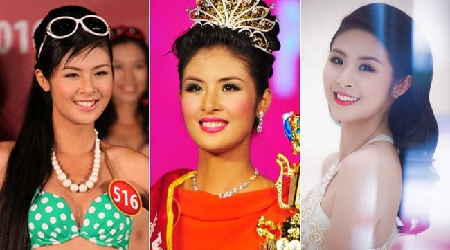 Khác biệt lớn giữa style make up ngoài đời với trên sân khấu đăng quang của các Hoa Hậu Việt Nam - Ảnh 12.