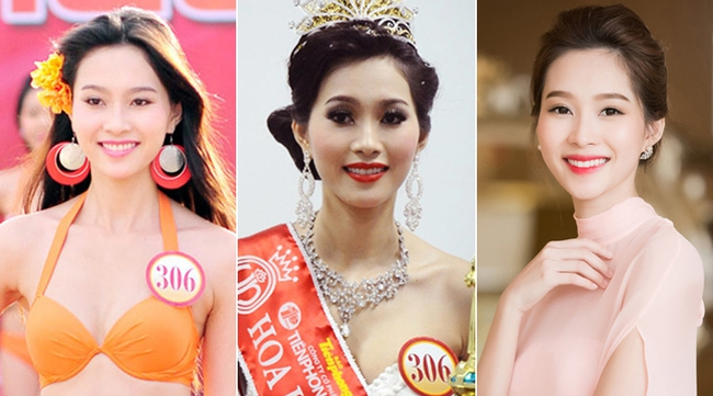Khác biệt lớn giữa style make up ngoài đời với trên sân khấu đăng quang của các Hoa Hậu Việt Nam - Ảnh 16.