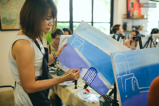Có gì ở lớp học vẽ thư giãn đang cực hot tại Hà Nội và Sài Gòn thời gian gần đây? - Ảnh 8.