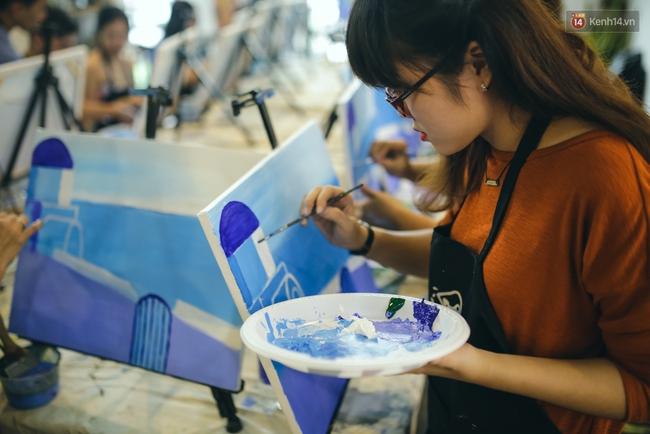 Có gì ở lớp học vẽ thư giãn đang cực hot tại Hà Nội và Sài Gòn thời gian gần đây? - Ảnh 4.