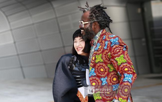 Seoul Fashion Week ngày 4: Châu Bùi và Min cứ xinh chất thế này thì fashionista Hàn có là gì! - Ảnh 6.