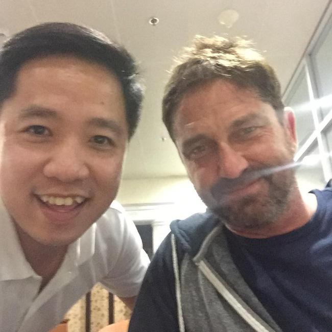 Vừa đặt chân đến Việt Nam, tài tử phim 300 Gerard Butler đã bị mất ví - Ảnh 5.