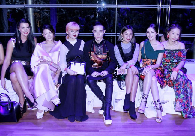 Kelbin Lei dự show diễn của NTK trứ danh đã tạo nên váy ốp-la cho Rihanna - Ảnh 6.