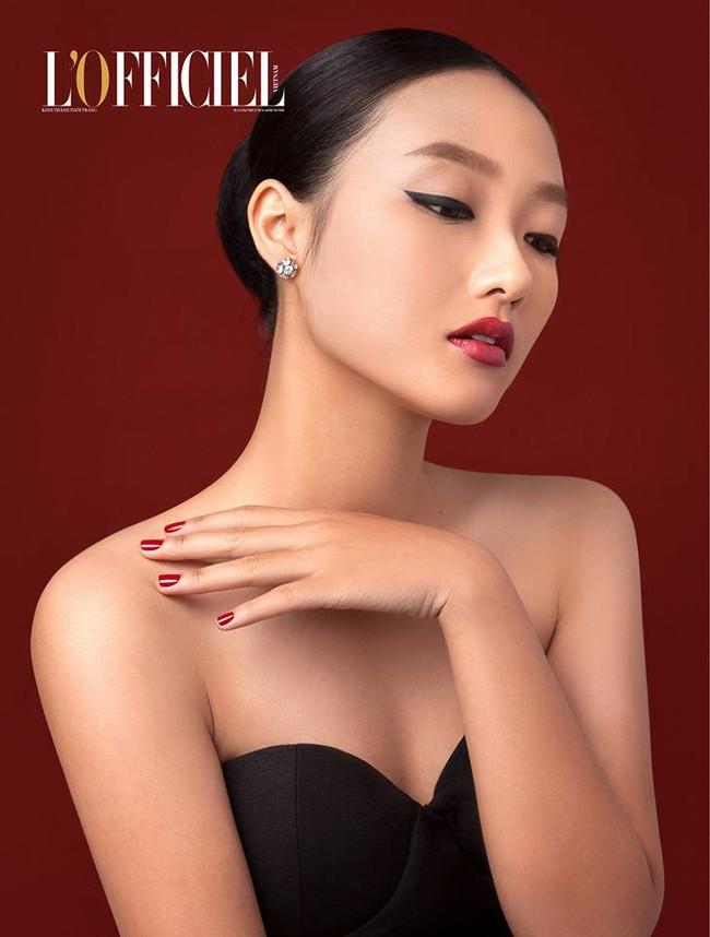 Sở hữu dung mạo mỹ nhân, Linh Khiếu hiện đang đắt show chụp hình tạp chí hơn cả chị mình! - Ảnh 1.