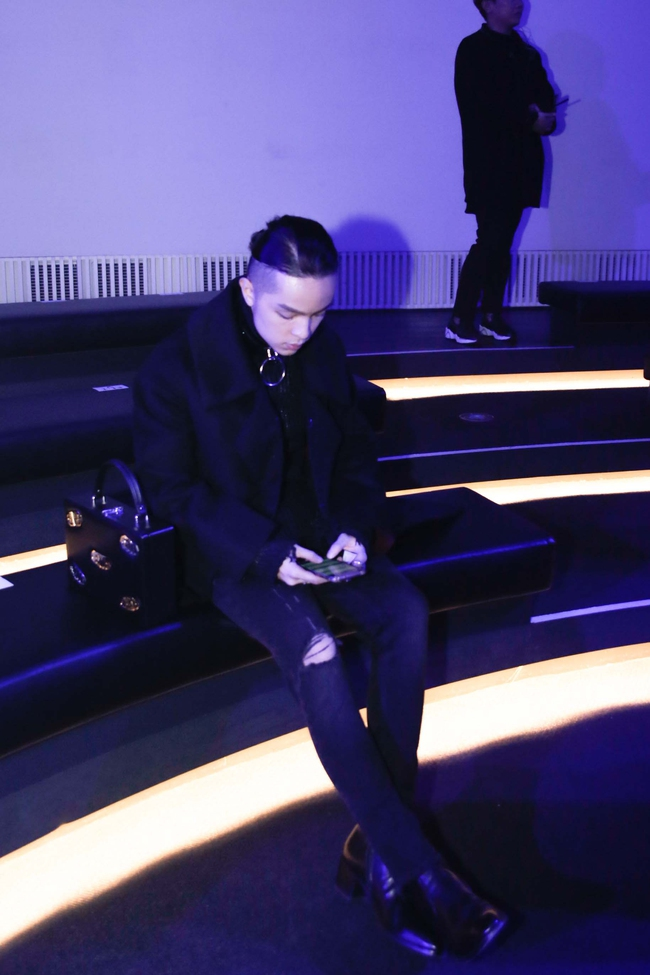 Kelbin Lei lại im ỉm qua Seoul dự show thời trang, sánh vai bên Luna (f(x)) - Ảnh 3.
