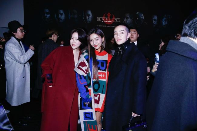 Kelbin Lei lại im ỉm qua Seoul dự show thời trang, sánh vai bên Luna (f(x)) - Ảnh 6.