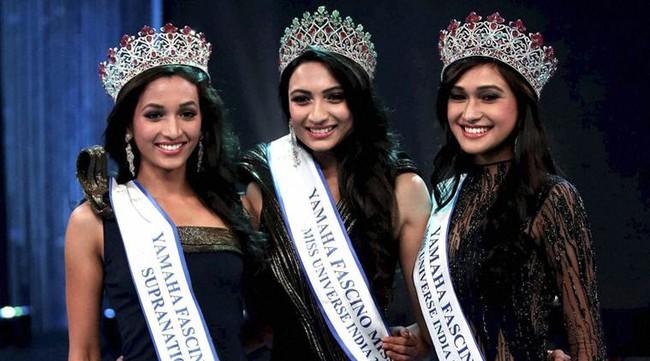 Nhan sắc mặn mà như minh tinh điện ảnh của Hoa hậu Hoàn vũ Ấn Độ 2016 - Ảnh 2.