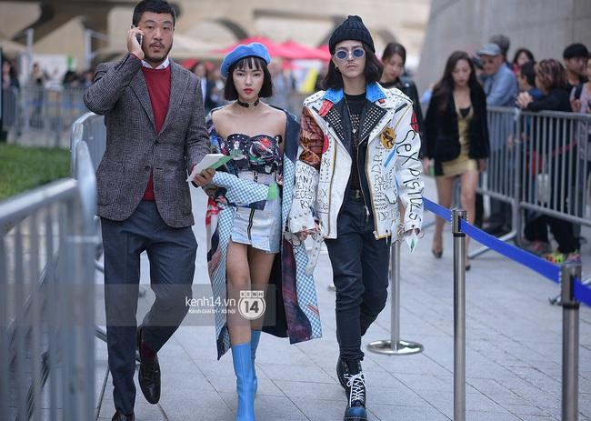 Độc quyền: Street style chất lừ tại Tuần lễ thời trang Seoul - Ngày 2 - Ảnh 2.