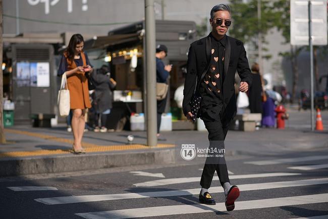 Độc quyền: Street style chất lừ tại Tuần lễ thời trang Seoul - Ngày 2 - Ảnh 6.
