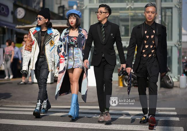 Độc quyền: Street style chất lừ tại Tuần lễ thời trang Seoul - Ngày 2 - Ảnh 1.