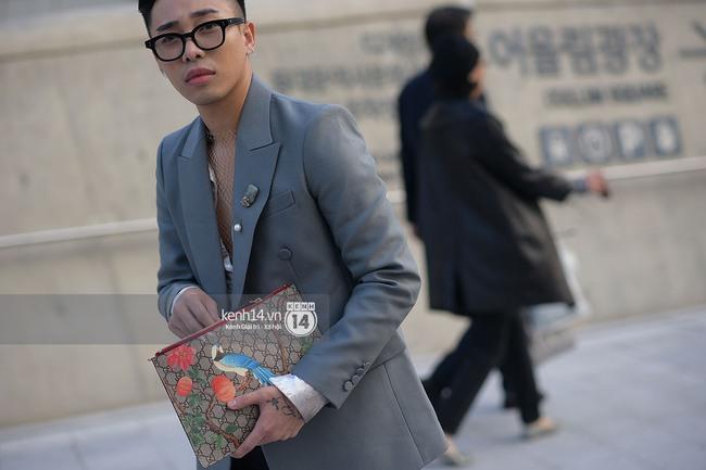 Độc quyền: Street style chất lừ tại Tuần lễ thời trang Seoul - Ngày 2 - Ảnh 9.