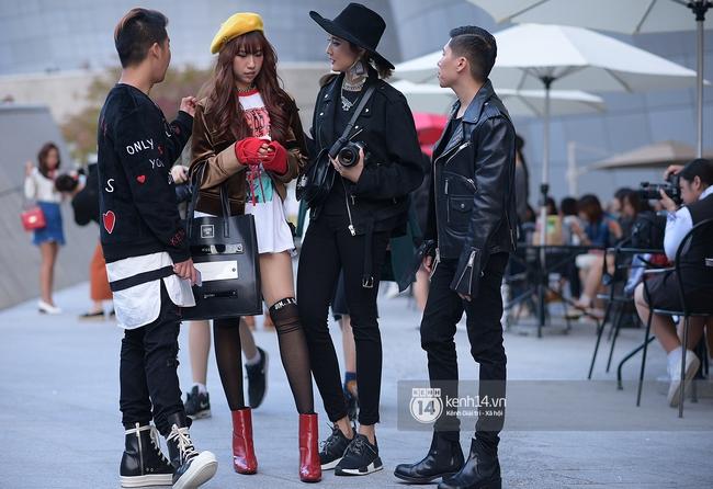 Độc quyền: Street style chất lừ tại Tuần lễ thời trang Seoul - Ngày 2 - Ảnh 13.
