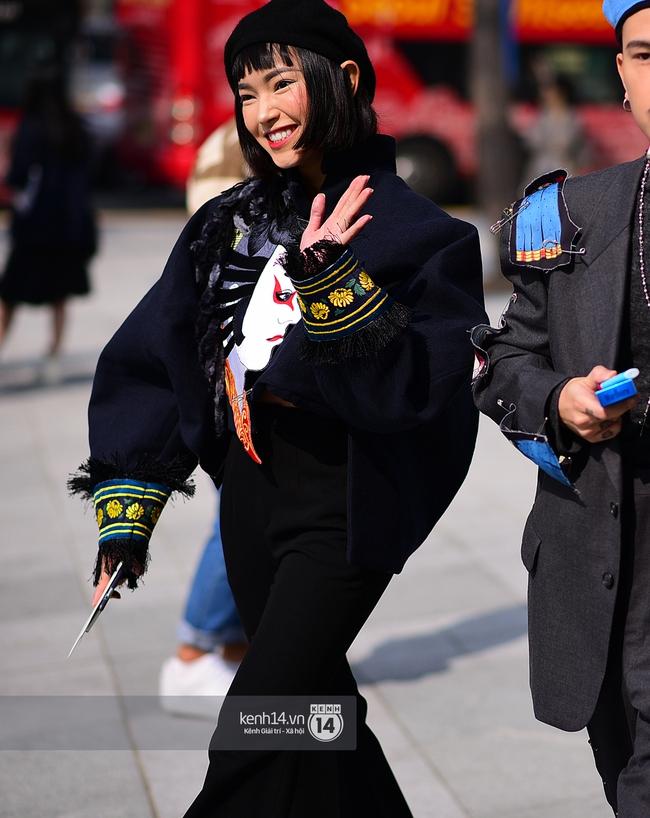 Seoul Fashion Week ngày 4: Châu Bùi và Min cứ xinh chất thế này thì fashionista Hàn có là gì! - Ảnh 3.
