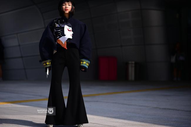 Seoul Fashion Week ngày 4: Châu Bùi và Min cứ xinh chất thế này thì fashionista Hàn có là gì! - Ảnh 4.