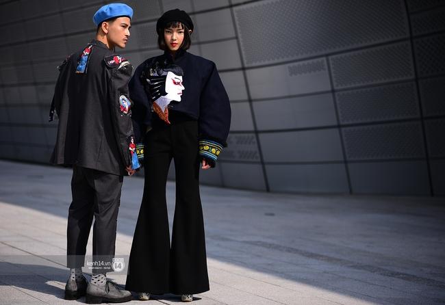 Seoul Fashion Week ngày 4: Châu Bùi và Min cứ xinh chất thế này thì fashionista Hàn có là gì! - Ảnh 5.