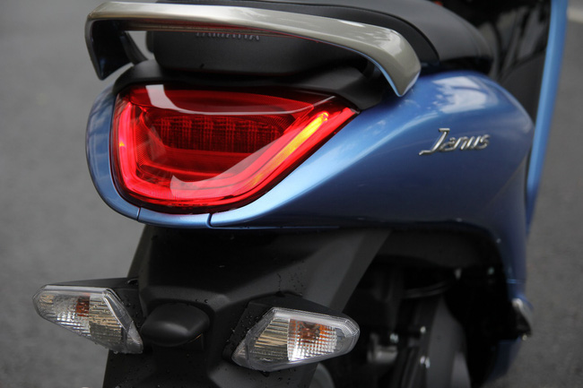 Cận cảnh Janus, xe tay ga mới cực hot cho giới trẻ của Yamaha - Ảnh 4.