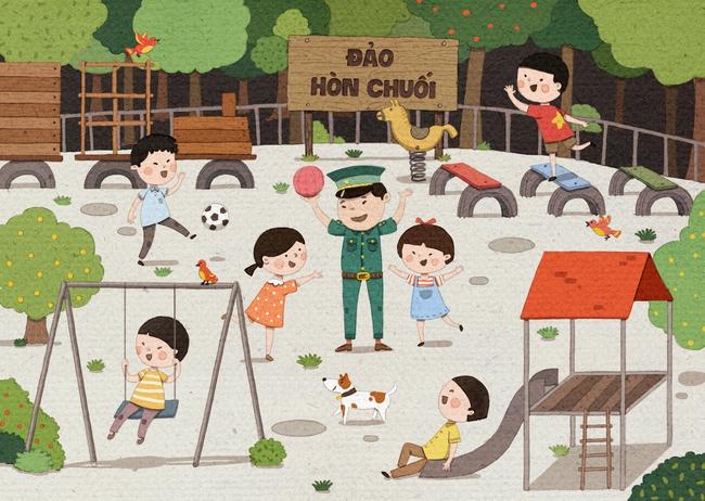 Dự án gây quỹ mang sân chơi và nhà vệ sinh mới cho đám học trò nghèo ở đảo Hòn Chuối! - Ảnh 5.