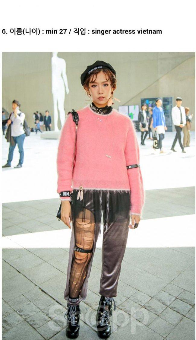 Seoul Fashion Week ngày 4: Châu Bùi và Min cứ xinh chất thế này thì fashionista Hàn có là gì! - Ảnh 15.