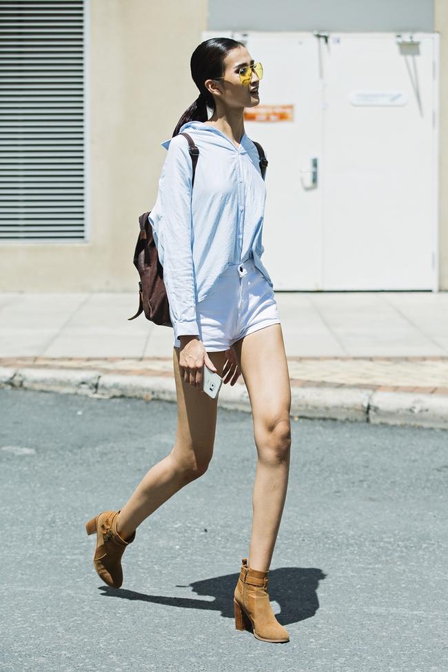 Trai xinh gái đẹp VNTM nhiệt liệt hưởng ứng The Best Street Style trước thềm Vietnam International Fashion Week Thu Đông 2016 - Ảnh 1.