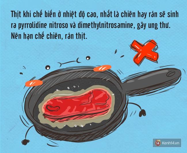 Khi nấu ăn nhớ những mẹo này để tránh được nguy cơ ung thư từ thực phẩm - Ảnh 3.