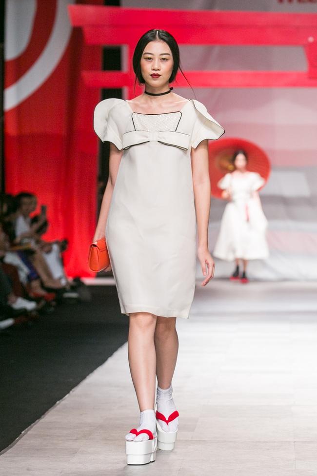 Hoa khôi Nam Em mở màn Tinh khôi - BST cuối cùng của Vietnam International Fashion Week - Ảnh 6.