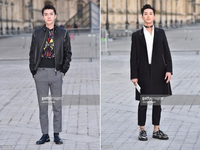 Dự show Louis Vuitton, Sehun ăn đứt Hứa Ngụy Châu về độ nam tính, được Vogue chọn là sao nam mặc đẹp nhất - Ảnh 1.