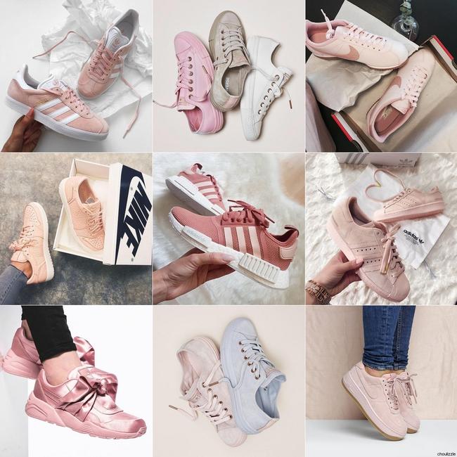 Không phải sneaker đen hay trắng, sneaker màu bánh bèo mới là boss trong lòng con gái Việt thời gian này - Ảnh 1.