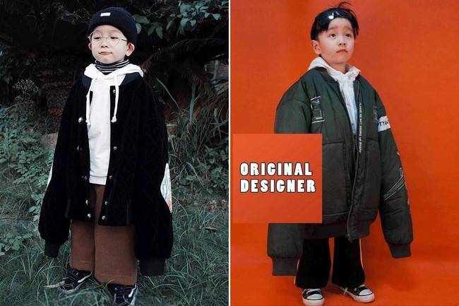 Cậu nhóc 4 tuổi chuyên lấy quần áo của bố diện thành đồ phong cách retro siêu độc đáo - Ảnh 3.