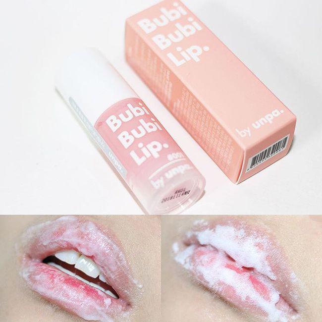 Đánh son kem lì không còn sợ bong tróc da môi với gel tẩy da chết sủi bọt siêu đã - Ảnh 4.