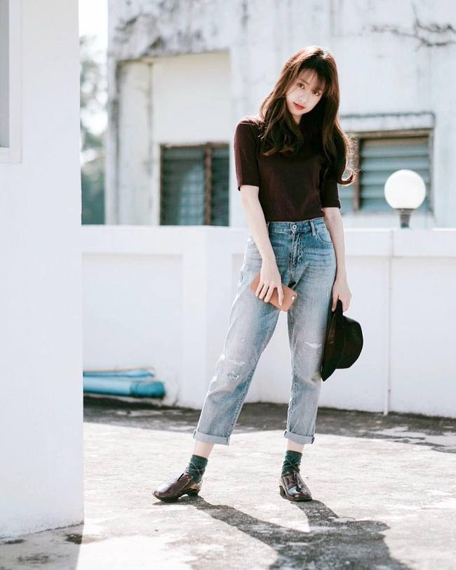 Pimtha, nàng hot girl Thái toàn mặc đồ basic nhưng ai nhìn cũng muốn bắt chước - Ảnh 7.