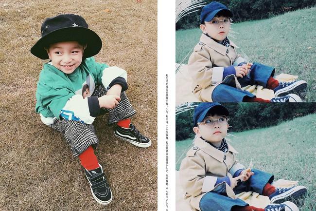 Cậu nhóc 4 tuổi chuyên lấy quần áo của bố diện thành đồ phong cách retro siêu độc đáo - Ảnh 13.