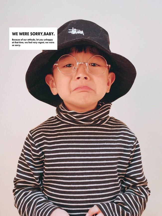 Cậu nhóc 4 tuổi chuyên lấy quần áo của bố diện thành đồ phong cách retro siêu độc đáo - Ảnh 23.