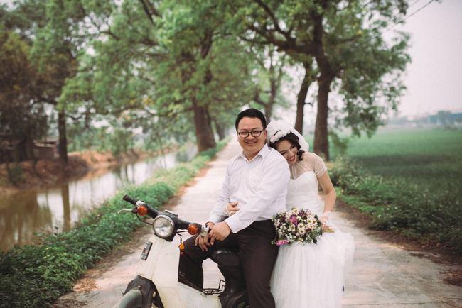 Độc nhất vô nhị: Chụp một lần, cặp đôi tái hiện được tất cả các kiểu lễ cưới Việt Nam trong 100 năm qua! - Ảnh 10.