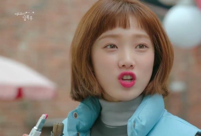 Phim đã hết nhưng con gái Hàn vẫn đổ xô cắt tóc ngắn cũn, tô son giống tiên nữ cử tạ Kim Bok Joo - Ảnh 15.