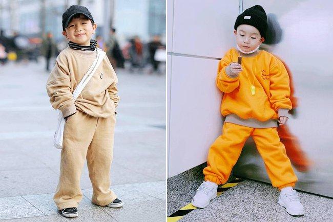 Cậu nhóc 4 tuổi chuyên lấy quần áo của bố diện thành đồ phong cách retro siêu độc đáo - Ảnh 19.