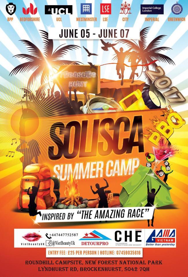 Du học sinh Anh chào hè với Solisca Summer Camp - Ảnh 1.