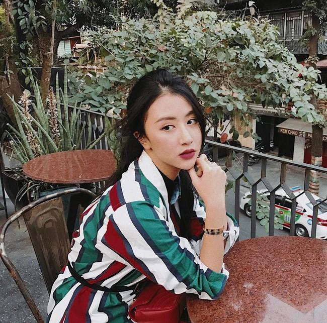 Ngoài son đỏ, các hot girl châu Á còn tích cực diện những màu son cực lạ dịp Tết vừa qua - Ảnh 1.