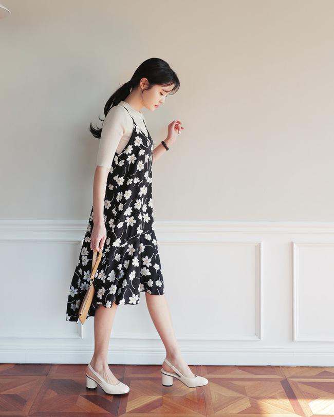 5 công thức mix váy hoa xinh đáo để nàng nào cũng nên thuộc nằm lòng - Ảnh 3.