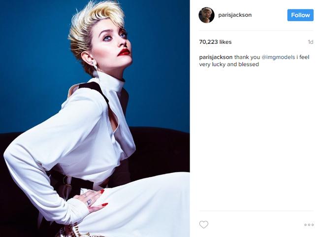 Con gái Michael Jackson ký hợp đồng người mẫu, chính thức cạnh tranh với Gigi, Bella Hadid - Ảnh 2.