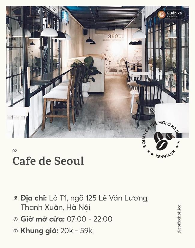 Nghỉ lễ không đi chơi thì cứ đi hết list quán cafe mới mở ở Hà Nội cũng đủ hết ngày - Ảnh 4.