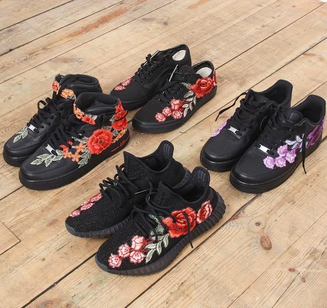 Giày sneaker thêu, xu hướng hoa hòe hoa sói mà bạn cứ lướt Instagram là gặp thời gian này - Ảnh 18.