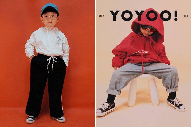 Cậu nhóc 4 tuổi chuyên lấy quần áo của bố diện thành đồ phong cách retro siêu độc đáo - Ảnh 18.