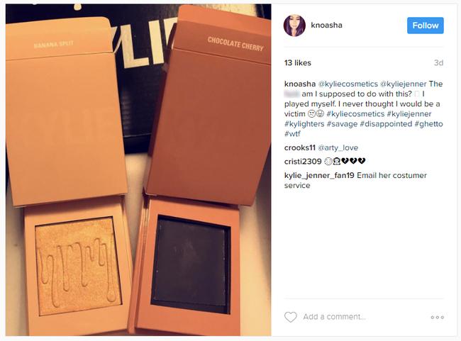 Bỏ 500 ngàn đặt mua phấn highlighter của Kylie, khách hàng tá hỏa vì chỉ nhận được vỏ hộp rỗng - Ảnh 5.