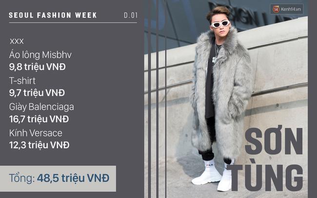 Seoul Fashion Week: Lên đồ nổi bật là thế nhưng hóa ra Sơn Tùng diện toàn đồ rẻ hơn hẳn các sao Việt khác - Ảnh 5.