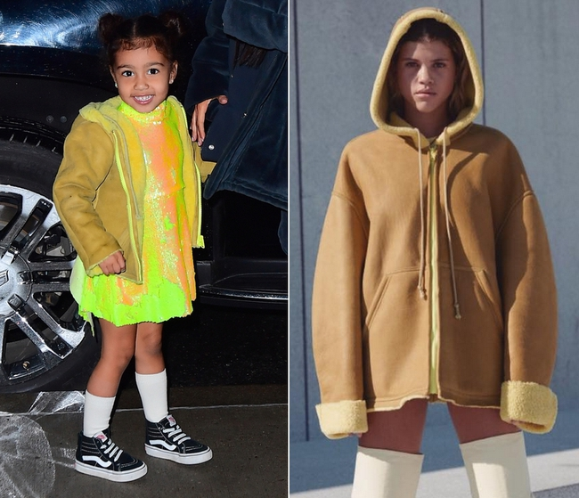 Kim - Kanye sắp ra mắt BST thời trang trẻ em, bé North đương nhiên là người diện đầu tiên - Ảnh 3.