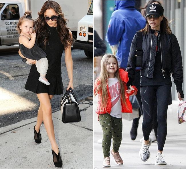 Không thể tin cũng có ngày bà Beck diện legging cùng sneaker giản dị thế này ra phố - Ảnh 5.