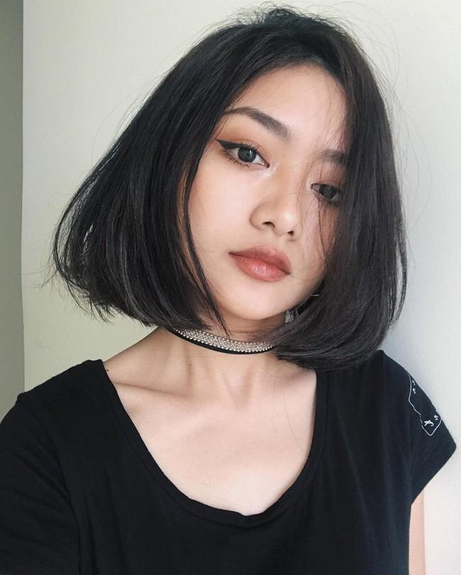 Ngoài son đỏ, các hot girl châu Á còn tích cực diện những màu son cực lạ dịp Tết vừa qua - Ảnh 14.